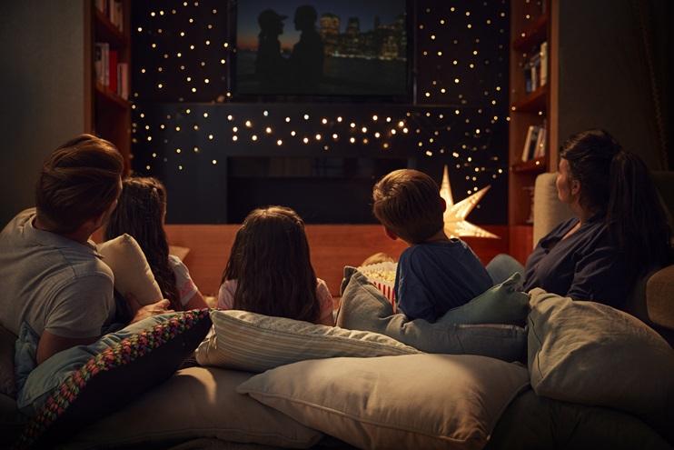 watching films